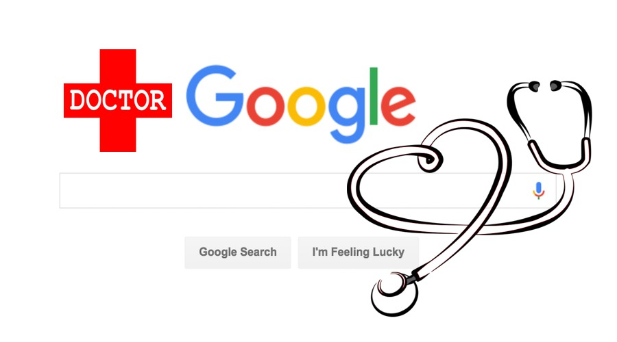 google doctor symptom search
