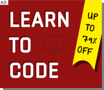 LEARN TO CODE SQUARE AD