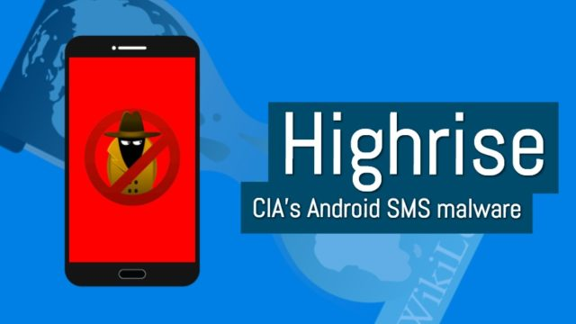 cia android highrise malware