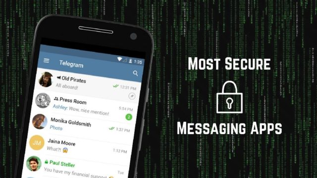 most top secure encrypted apps