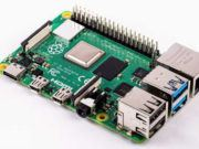 raspberry Pi 4 connected to PCIe