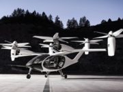 Toyota electric flying taxi startup