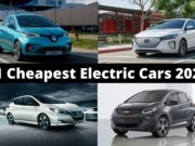 11 cheapest electric cars 2020
